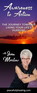 Awareness to Action with Joan Marlow:  The Journey Towards Living Your Life\'s Purpose: The Power of Meditation with Animals in Transforming Your Life