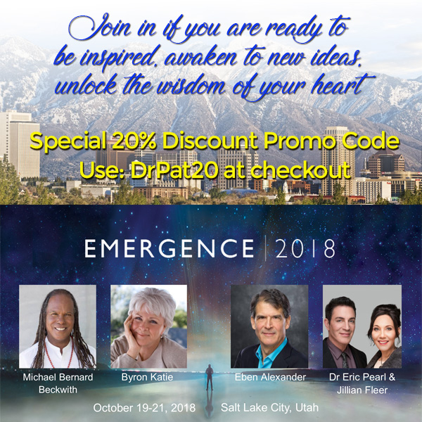 Emergence 2018 October 19-21, salt lake city, utah. special 20% discount with drpat20