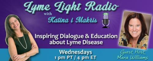 Lyme Light Radio with Guest Host Mara Williams: Guideline revision.  What do patients want? With Lorraine Johnson, CEO LymeDisease.org