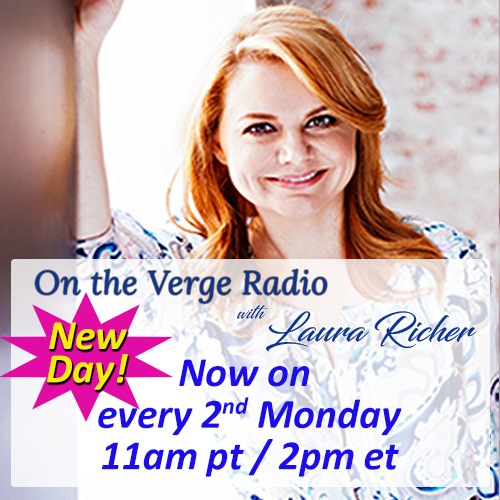 on the verge radio with laura richer now 2nd mondays