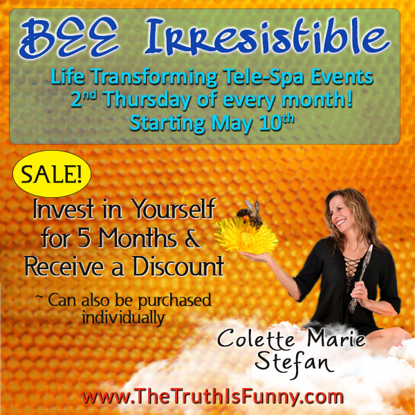 BEE Irresistible tele-spa with colette marie stefan - sale