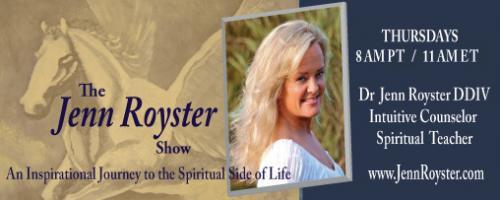 The Jenn Royster Show: Angel Messages for March 2016 with Dr Jenn