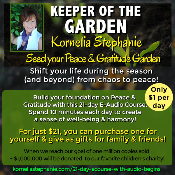 The Keeper of the Garden 21-Day E-Audio Course - Kornelia Stephanie